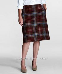 Шерстяная юбка шестиклинка Landsend h 14 US 52-54
