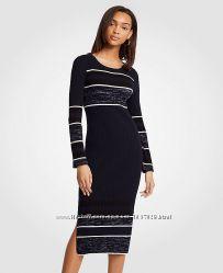 Платье вязанное длинный рукав от Ann Taylor размер XL US
