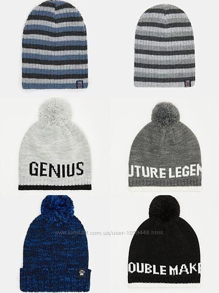 Большой выбор шапок, шапки на мальчика, демисезонная шапка, зимняя шапочка,