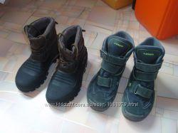 Детские зимние непромокаемые ботинки сапоги сноубутсы Lowa Spirale р. 35
