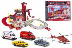Игровой набор Majorette Спасательная станция с 5 машинками