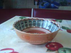 Глиняная салатница