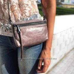 Натуральная кожа, сумки через плечо Hobo Bags