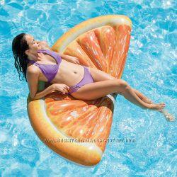 Матрас надувной Intex Апельсин Orange Slice