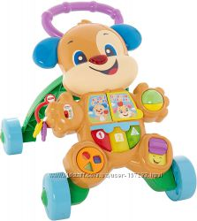 Ходунки толкатель Щенок Fisher-Price Laugh and Learn Smart Stages Learn