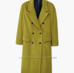 Шерстяное пальто Mango. Размер L.