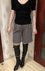 Классические шорты с манжетами
