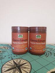 Now Foods, органический какао-порошок, 340 г.