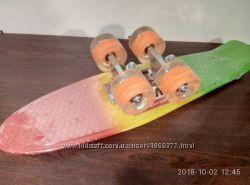 Акция Супер Цена Penny board Свет колес Скейт Пенни борд  Градиент Живые фо