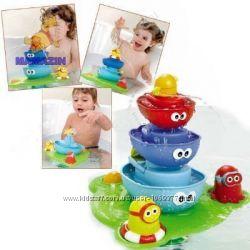 Водопад D 40115 игрушка для ванной, фонтанчик, пирамидка на подставке