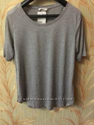 H&M футболка серая