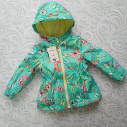 Детская курточка , ветровка на флисе  George
