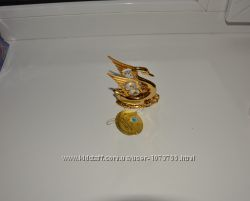 Фигурка Лебедь с кристаллами Swarovski