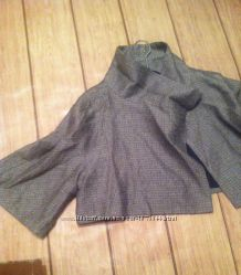 Стильный укороченный пиджак болеро от mango mng м, 46