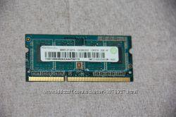Оперативная память для ноутбука SODIMM DDR3 PC3-12800 2GB