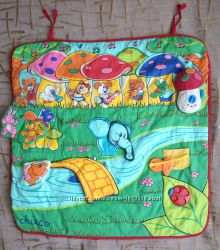 Музыкальный, развивающий коврик Chicco Лесная поляна