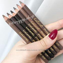 Пудровые карандаши для бровей со щеточкой и без щеточки LaCordi Германия