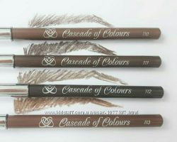 Пудровые карандаши для бровей Cascade Of Colours Германия