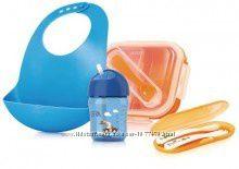 Набор или по отдельности Avent посуды дорожный в футляре для кормления