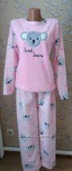 Пижама детская с велсофта плюс махра