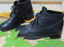 Демисезонные женские ботинки Италия из натуральной кожи р. 40