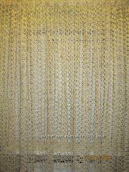 Готовая оригинальная гардина-сетка 4, 05 х 1, 85 м