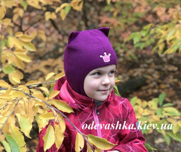 Шапка-шлем Кошка для девочек от ТМ Beezy