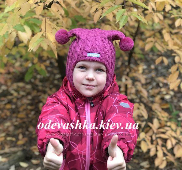 Шапка-шлем Бизи зима мод. Косы