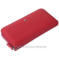 Красный женский кошелек из натуральной кожи AL-W38-1-RED