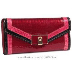 cf4ce8eab31d Женский кожаный кошелек красный с лакированным покрытием AL-AE450-RED