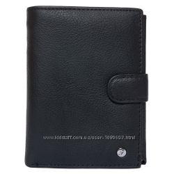 Портмоне мужское кожаное черное для автодокументов F. Leather ALRT-F503