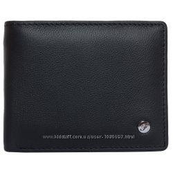 Портмоне мужское кожаное черное F. Leather Collection ALRT-F460 Black