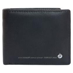 Портмоне мужское кожаное черное F. Leather Collection ALRT-F59 Black