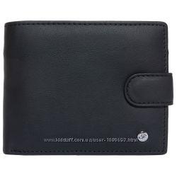 Портмоне мужское кожаное черное F. Leather Collection ALRT-F37 Black