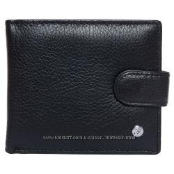 Портмоне мужское кожаное черное F. Leather Collection ALRT-F34 Black