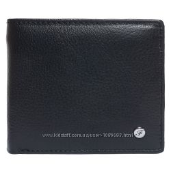 Портмоне мужское кожаное черное F. Leather Collection ALRT-F9 Black