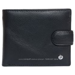 Портмоне мужское кожаное черное F. Leather Collection ALRT-F4 Black