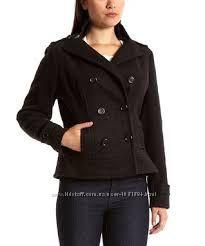 Женская драповая укороченная куртка YOKI США размер RU52