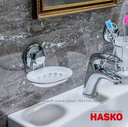 Мыльница для ванной комнаты на вакуумной присоске