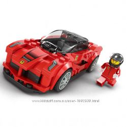 Детский конструктор гоночная машина Porsсhe на 161 деталь