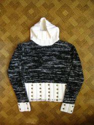 Стильный свитер, джемпер - шерсть - glamer - размер xs, s