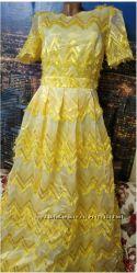 Роскошное брендовое вечернее платье в пол. Платье вечернее в пол