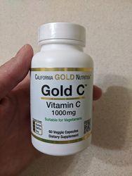 California Gold Nutrition, Gold C, витамин C, 1000 мг, 60 капсул