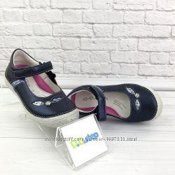новые кожаные туфли для девочки степ Step нові шкіряні мешти для дівчинки