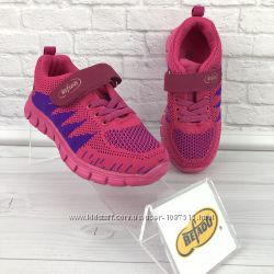 Новые польские кроссовки для девочки Befado текстильные нові кросівки демі