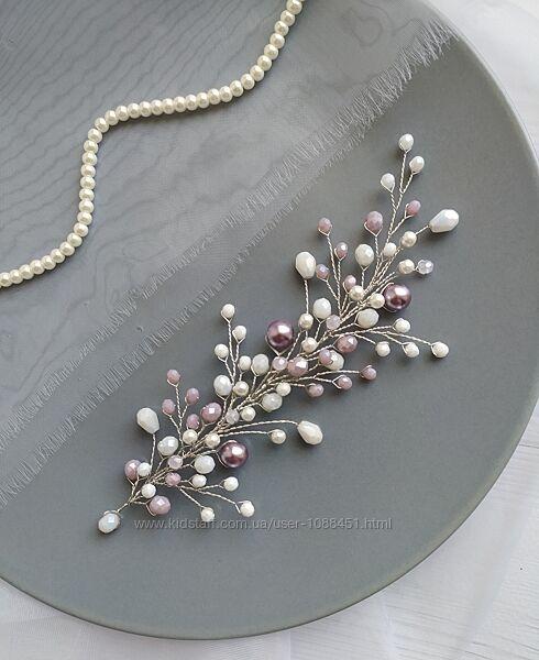 Свадебное украшение фиолетовом цвете вечернее украшение