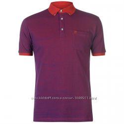 Рубашка поло футболка Pierre Cardin Purple Оригинал Фиолетовый цвет Карман