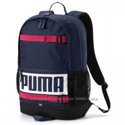Рюкзак Puma Deck Navy 24l Оригинал Синий цвет городской спортивный школьный