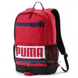Рюкзак Puma Deck Red 24l Оригинал Красный городской спортивный школьный