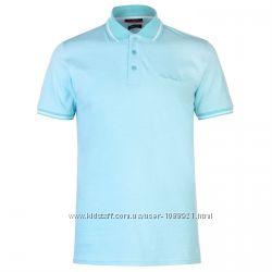 Рубашка поло футболка Pierre Cardin Aqua Blue Оригинал Ментол цвет Хлопок